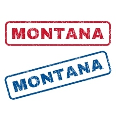Montana Rubber Stamps vector