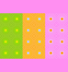 seamless pattern with light squares and lines vector image