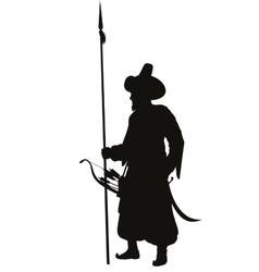 Turkish spearman Warriors Theme vector image