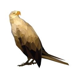 royal eagle vector image vector image