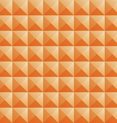 triangle orange jewel texture seamless background vector image