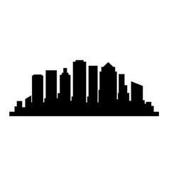 boston skyline vector image