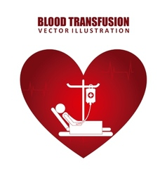 donate blood vector image