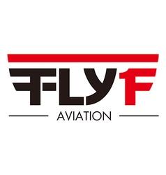 Flying aviation vector