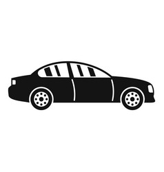 gas car icon simple style vector image