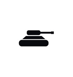 isolated warfare icon troops element can vector image