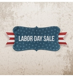 Labor Day Sale national Tag vector