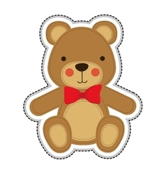teddy bear icon image vector image