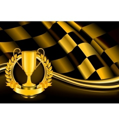 Champion Background vector image vector image