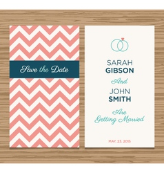 wedding card pattern pink 02 vector image vector image