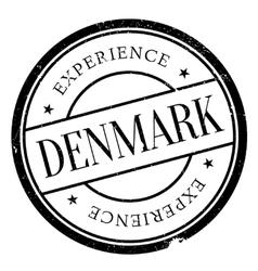 Denmark stamp rubber grunge vector