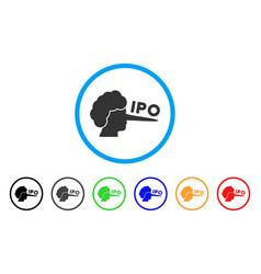 ipo lier icon vector image