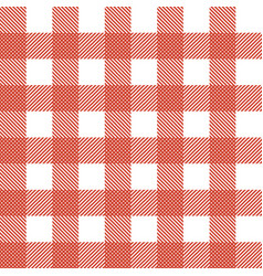 plaid tablecloth seamless pattern vector image