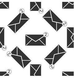 Received message concept envelope icon vector