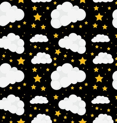 Seamless stars vector image