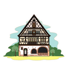 Typical house vector