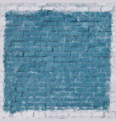 A blue brick wall background triangle texturestock vector