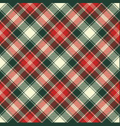 fabric texture check plaid seamless pattern vector image