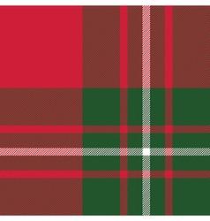 Macgregor tartan kilt fabric texture seamless vector image