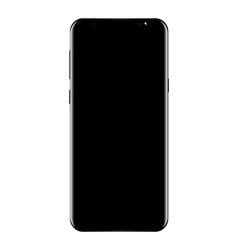 new phone drawing high detail isolated on white vector image