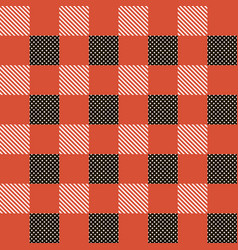 Plaid tablecloth tartan beautiful seamless vector