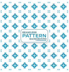 seamless floral pattern image vector image