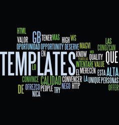 Templates de alta calidad text background word vector