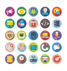 Web design and development icons 12 vector