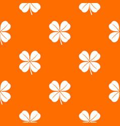 clover leaf pattern seamless vector image
