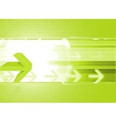 Arrow background vector image vector image