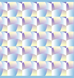blue mosaic geometric seamless pattern vector image