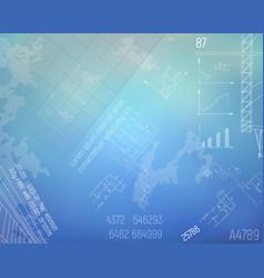 boiler room engineering drawings technology vector image