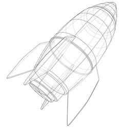 Bomb sketch vector