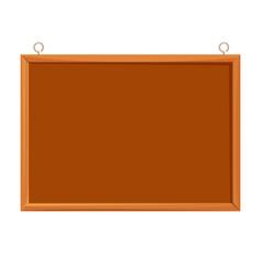 Bulletin board realistic vector