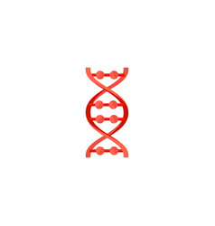 dna molecule sign genetic elements and icon vector image
