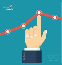 Increasing business graph vector