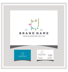 Letter d people team colorful logo design vector