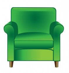 Lounge chair vector