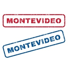 Montevideo Rubber Stamps vector