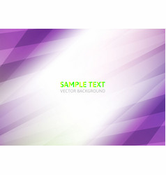 Purple abstract on white background with copy vector