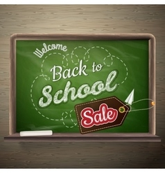 School board Sale EPS 10 vector image