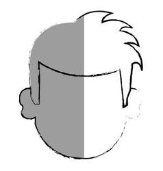 Young irish man character vector