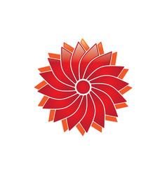 blossom logo vector image vector image