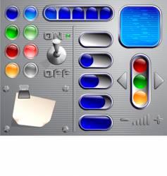 web navigation vector image vector image