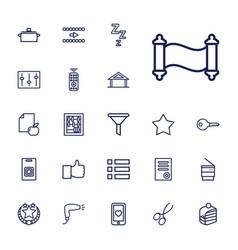 22 button icons vector