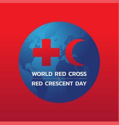 Bangkok april 28 world red cross and red vector