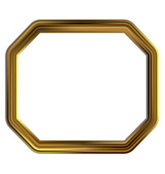 Frame gold clip art vector