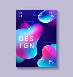 creative design poster vector image