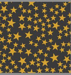 the orange stars pattern vector image