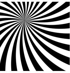 Black and white sun sunburst pattern vector